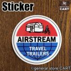 ステッカー エアストリーム トラベルトレーラー AIR STREAM/st209/車・バイク/カスタムシール