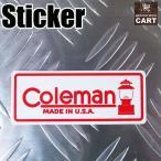 ステッカー コールマン Coleman ランタン 旧ロゴ 【アウトドア/カスタムシール/西海岸】
