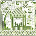 ししゅう糸 DMC糸 クロスステッチ刺繍キット 愛する我家 (11CT 図案印刷)