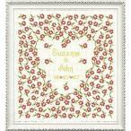 クロスステッチ 刺繍キット  ハート結婚 (DMC刺繍糸)HD5919C