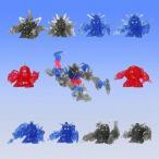 【カプセル付】SDガンダムフルカラーカスタム クリアーSP2 全10種類コンプセット 《ガシャポン》