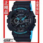 Gショック カシオ GA-110LN-1AJF レイヤード・ネオンカラー腕時計「G-SHOCK」メンズ(黒色〈ブラック〉)