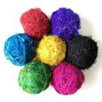リサイクルシルクヤーン colors