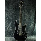 【ERNIE BALL4点セット付】Fender Japan Exclusive Aerodyne Stratocaster Medium Scale HSS BLK (旧型番:AST-M SSH) ブラック