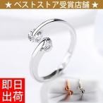 指輪 フリーサイズ/計0.5カラット 二粒 リング/指輪/