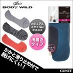 GUNZE(グンゼ) / BODY WILD (ボディワイルド)  / フットカバー / 21BDD102