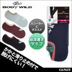 GUNZE(グンゼ) / BODY WILD (ボディワイルド)  / フットカバー / 21BDD109