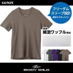 BODYWILD vネック T シャツ ボディワイルド GUNZE グンゼ VネックTシャツ(V首)(紳士)/BWB515
