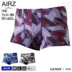 GUNZE(グンゼ)/BODY WILD(ボディワイルド) AIRZ /エアーズボクサーパンツ(前とじ)(メンズ)/紳士下着/BWY917A/M〜LL