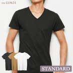GUNZE(グンゼ)/the GUNZE(ザ・グンゼ)/THE GUNZE/メンズ VネックTシャツ(紳士) 31CK9015