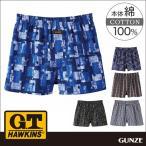 GT ホーキンス G.T.HAWKINS GUNZE(グンゼ)/G.T.HAWKINS(GTホーキンス)/トランクス(前あき)(紳士)/年間パンツ/HK9517