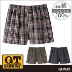 GT ホーキンス G.T.HAWKINS GUNZE(グンゼ)/G.T.HAWKINS(GTホーキンス)/トランクス(前あき)(紳士)/年間パンツ/HK9617