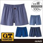 GT ホーキンス G.T.HAWKINS GUNZE(グンゼ)/G.T.HAWKINS(GTホーキンス)/トランクス(前あき)(紳士)/年間パンツ/HK9618