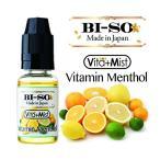 電子タバコ Vape ベイプリキッド ビタミンメンソール 15ml BISO