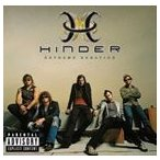 HINDER ヒンダー/EXTREME BEHAVIOR CD+DVD 輸入盤 CD