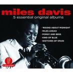 MILES DAVIS マイルス・デイヴィス/5 ESSENTIAL ORIGINAL ALBUMS 輸入盤 CD