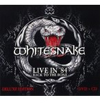 WHITESNAKE ホワイトスネイク/LIVE IN 1984 : BACK TO THE BONE 輸入盤 CD