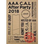 AAA C.A.L After Party 2018 Blu-ray Disc