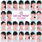 """ハロプロ研修生/1Let's say """"Hello!"""" CD"""