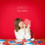 MACO/love letter(初回限定盤/CD+DVD) CD