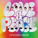 CROSS GENE/Love & Peace/sHi-tai!(初回限定盤A/CD+DVD) CD