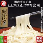 ねばりごし 送料無料 3束 青森県産 メール便 車力産小麦100%使用