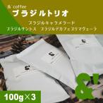コーヒー豆 送料無料 珈琲豆 ブラジルスペシャルセット 3種で300g コーヒー 豆 焙煎後すぐ発送