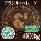 コーヒー豆 送料無料 珈琲豆 おてがるパック ブラジル ベレーダ 400g 約40杯分