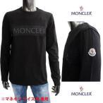 モンクレール MONCLER メンズ トップス ロンT アームロゴ・フロントメッシュ加工/MONCLERロゴプリント付きロングTシャツ 8D71810 8390T 999 (R42900) 121