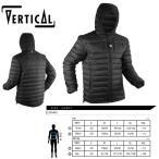 ダウンジャケット メンズ VERTICAL ヴァーティカル Down Jacket 〔ダウン ジャケット 17/18〕 (Black):VV075