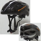 ヘルメット インライン ROLLERBLADE ローラーブレード WORKOUT (Black/Orange) インラインスケート 自転車 スケートボード (BK-OR):