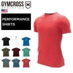043 【送料無料】 GYMCROSS(ジムクロス)【PERFORMANCE】トレーニング フィットネスウェア 半袖Tシャツ ストレッチ【メンズ】gc-0423