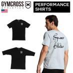 059-062 【送料無料】 GYMCROSS (ジムクロス)トレーニング フィットネスウェア Tシャツ 5分袖 7分袖ストレッチ【メンズ】gc-059