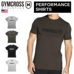 069 【送料無料】 GYMCROSS (ジムクロス)【PERFORMANCE】トレーニング フィットネスウェア Tシャツ 半袖 ストレッチ【メンズ】gc-069