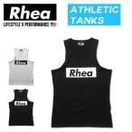 006 Rhea(レアー) トレーニングウェア フィットネス ストリートワークアウト タンクトップ ストレッチ【メンズ】