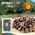 乾燥きくらげ 熊本県産 50g 送料無料 (国産 木耳 キクラゲ)