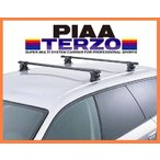 【KDH.TRH200V系ハイエース専用システムキャリアセット】PIAA TERZO 年式H16.8〜 バン、標準ルーフ [EF3+EB5]