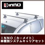 【R50テラノ専用システムキャリア】 INNO(カーメイト) 年式H7.9〜H14.8 [INFR+IN190+INB117]4ドア ベースレール付