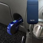 【送料540円】カシムラ IQ-8 IQOS用DC充電器 リール 2.4A micro BK-BL