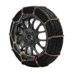 FECチェーン YJ112 雪道楽J1 金属タイヤチェーン 乗用車・ミニバン専用 ジャッキアップ不要で取付簡単! エフイーシー