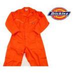 ディッキーズ Dickies ディッキーズ カバーオール つなぎ ツナギ 4870OR2XL オレンジ