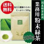 業務用 粉末緑茶 500g  送料無料 パウダー 国産 エピガロカテキンガレート