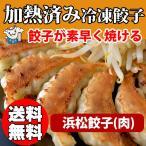 ショッピング餃子 加熱済み・浜松餃子(肉)75個   国産材料使用 お取り寄せ 送料無料