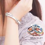 Bracelet Pair - ブレスレット ペアブレスレット レザーブレスレット 本革  レディース メンズ 2重巻き シルバー アクセサリー ≪ゆうメール便配送20・代引不可≫