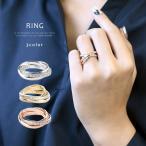 ペアリング 指輪 リング レディース 流星 輝き 豪華 3連 デザイン メンズ ジルコニア シルバー シンプル モチーフ ゴールド
