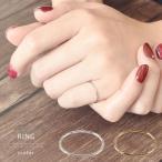 ピンキーリング 指輪 レディース ミディリング リング 極細 シンプル ナチュラル デザイン ゴールド シルバー おしゃれ 華奢 重ね付け