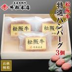 松阪牛 特選 ハンバーグ 160g × 3個 桐箱 冷凍 お歳暮