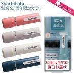 シャチハタ ネーム9 創業95周年記念限定カラー メールオーダー式