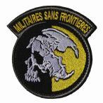 ベルクロワッペン メタルギアソリッド Militaires Sans Frontieres 国境なき軍隊 パッチ