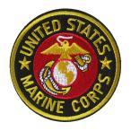 アイロンワッペン MARINE CORPS 海兵隊 ミリタリー アーミー ネイビー 4